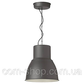 IKEA Подвесной светильник, темно-серый, 38 см