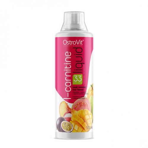 Жироспалювач OstroVit L-Carnitine Liquid 500 ml (Multifruit)