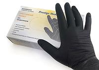 """Перчатки нитриловые """"Prestige Medical"""" Black"""