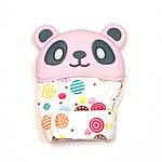 Рукавиця-гризунок SLINGOPARK «Панда» (рожевий з горошком)