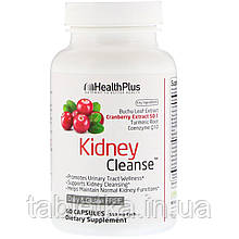 Health Plus, Kidney Cleanse™, препарат для очищения почек, 550 мг, 60 капсул