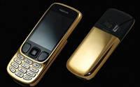 Мобильный телефон Nokia 6303 2Sim Gold Copy