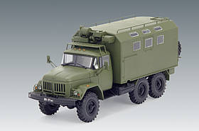 ЗиЛ-131 КШМ. Сборная модель советского военного грузового автомобиля в масштабе. 1/35 ICM 35517, фото 3