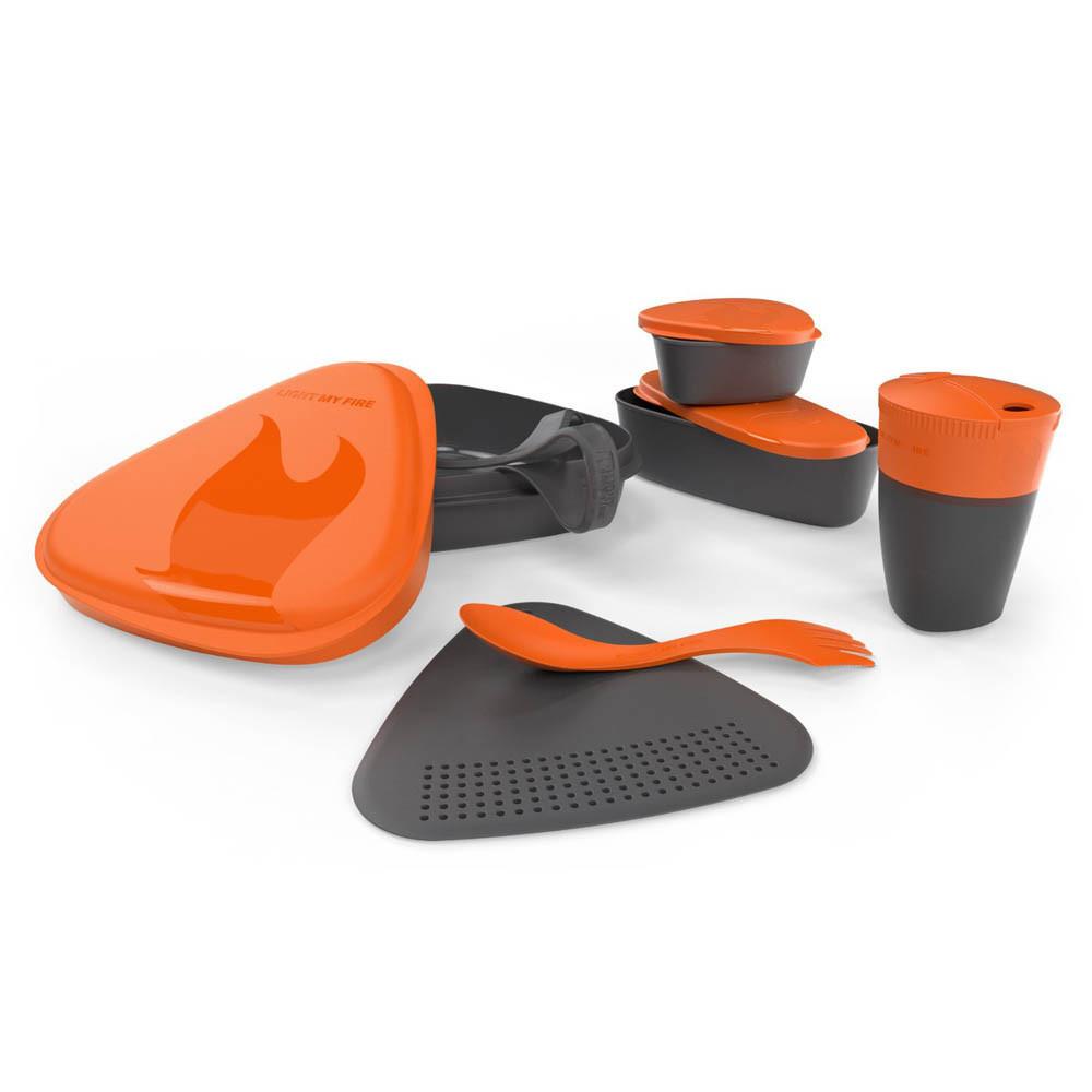 Набор посуды турист. MealKit 2.0 Orange 41363610