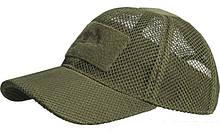 Бейсболка Helikon Baseball MESH Cap Olive Green (CZ-BBМ-PO-02)