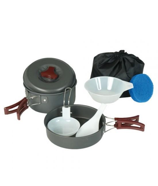 Набор Алюминиевой Посуды Для Одного Человека Mil-Tec (14650000)