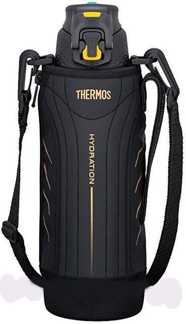 Термос для спортсменов чёрный 1л Thermos 140050