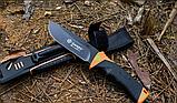 Нож выживания Ganzo (Orange) G8012, фото 7