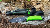 Нож выживания Ganzo (green) G8012, фото 6