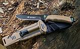 Нож выживания Ganzo (Coyote) G8012, фото 4