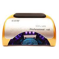 CCFL+LED Лампа для маникюра Professional 48W Золотая