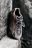 Мужские кроссовки Adidas yeezy 700 v2 Geode рефлективные 41-45р.Фото в живую (Реплика ААА+), фото 2
