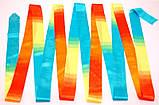 Лента Chacott ORIGINAL GRADATION RIBBON (6m) / Градация / Цвет: 723.Turquoise, фото 3