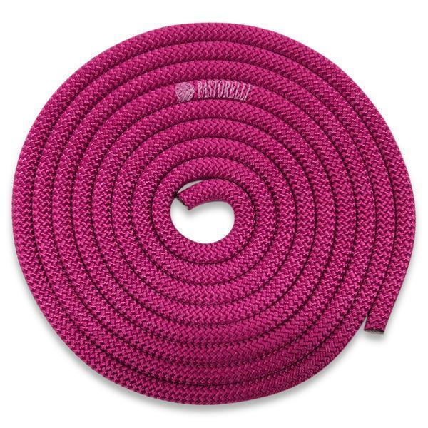 Скакалка гимнастическая PASTORELLI NEW ORLEANS / F.I.G. Approved / 3м / Цвет: Magenta