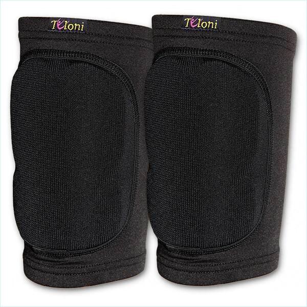 Наколенники защитные Tuloni модель KPS / Размер: M / Комплект 2 шт. / Цвет: Black