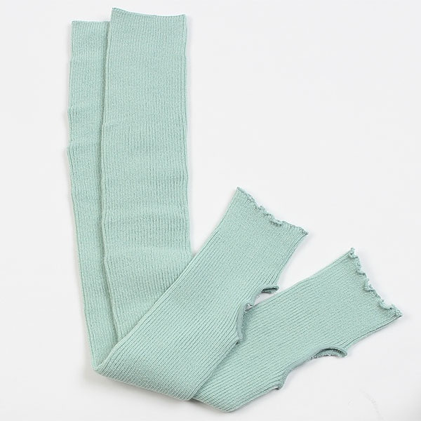 Гетры гимнастические Chacott LEG COVERS ULTRA-STRETCH №65 (65 см.) / One Size / Цвет: Peppermint