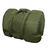 Cпальный мешок Mil-tec Pilot Olive (185х75 см) 14101001, фото 2