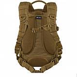 Тактический рюкзак Mil-Tec LASER CUT MISSION PACK SMALL Coyote 20 л. 14046019, фото 3