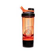 Шейкер с контейнером Casno 600 мл KXN-1199 Оранжевый