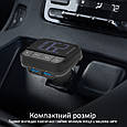 AUX/SD/USB USB 2.4 A FM-трансмітер Promate ezFM-2 Black, фото 5