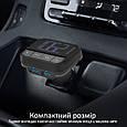 FM-трансмиттер Promate ezFM-2 AUX/SD/USB USB 2.4 A Black, фото 5