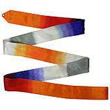 Лента Chacott ORIGINAL GRADATION RIBBON (5m) / Градация / Цвет: 784.Fire Orange, фото 4