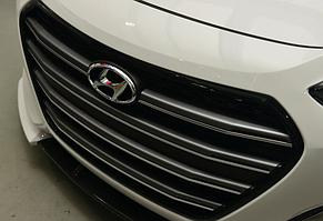 Решетка радиаторная Mobis для Hyundai I30 (2011+) тип А