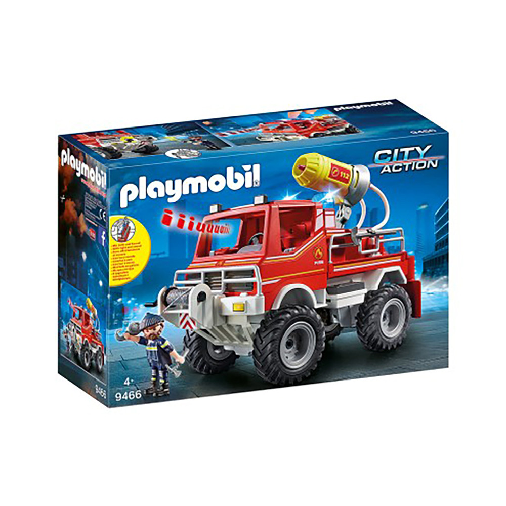 """Ігровий набір """"Пожежна машина з водяною гарматою"""" Playmobil (4008789094667)"""