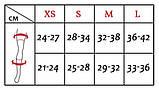 Наколенники защитные Tuloni модель KPS / Размер: XS / Комплект 2 шт. / Цвет: Black, фото 3