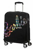 Валіза від American Tourister WAVEBREAKER Barbie , колір чорний ,40x55x20 см | 36 л | 2.6 кг
