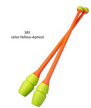 Булавы Chacott Original 36,5 cм  Combi цвет Желтый-Абрикосовый