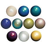 Мяч Chacott ORIGINAL Jewelry цвет: 598.Silver / Мяч Ювелирный (185 мм), фото 3