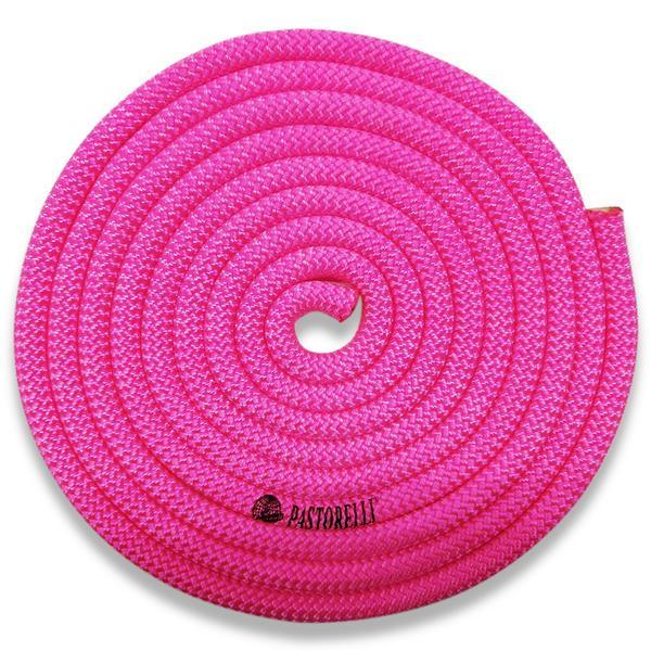 Скакалка гимнастическая PASTORELLI NEW ORLEANS / F.I.G. Approved / 3м / Цвет: Fluo Pink