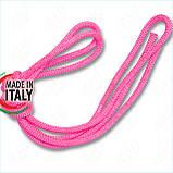 Скакалка гимнастическая PASTORELLI NEW ORLEANS / F.I.G. Approved / 3м / Цвет: Fluo Pink, фото 2