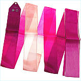 Лента Chacott ORIGINAL GRADATION RIBBON (5m) / Градация / Цвет: 745.Rose Pink, фото 4