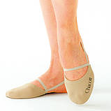 Получешки Chacott ORIGINAL STRETCH HALF SHOES / M (21.5-23.5cm) / Цвет: 011.Beige, фото 2