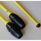 Булавы Chacott ORIGINAL RUBBER / 162.Black x Yellow  / (455 мм.), фото 9