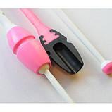 Булавы Chacott ORIGINAL RUBBER / 200.Pink x White / (455 мм.), фото 5
