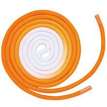 Скакалка Chacott ORIGINAL GRADATION ROPE OUTER-COLOR (NYLON) 3м Цвет: 783.Orange
