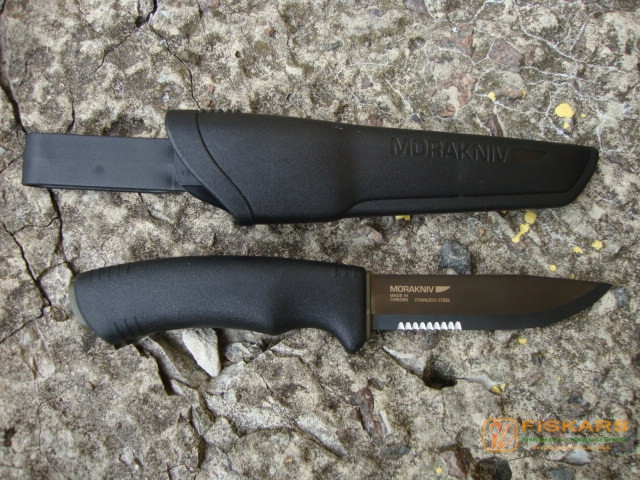 Нож mora BushCraft BLACK SRT 124188 / 12417