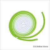 Скакалка Chacott ORIGINAL GRADATION ROPE OUTER-COLOR (NYLON) 3м Цвет: 733.Yellow Green, фото 3