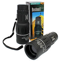 Cверхмощный компактный монокуляр - подзорная труба Bushnell 16x52 влагозащищенный монокль