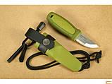Нож Morakniv (мора) Eldris Colour Mix 2.0 Green (12633), фото 2