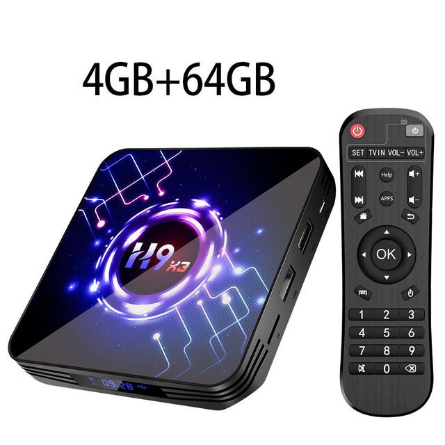 Смарт ТВ приставка Transpeed H9 X3 4/64Gb