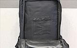 Тактический (городской) рюкзак Oxford 600D с системой M.O.L.L.E 40 л. Black (ta40 черный), фото 2