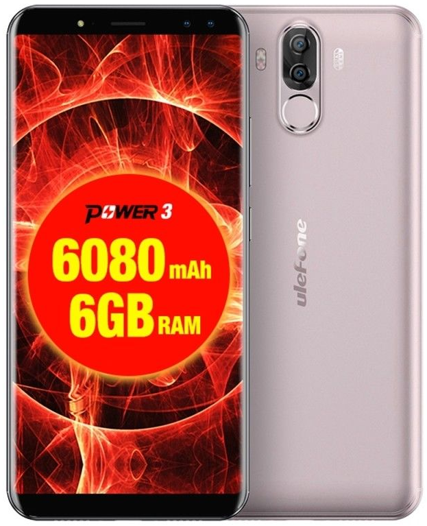 UleFone Power 3 gold