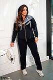 Женский спортивный костюм большого размера :  50,52,54,56,58,60, фото 3