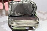 Тактическая универсальная (поясная) сумка - подсумок Mini warrior с системой M.O.L.L.E Olive, фото 5