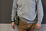 Тактическая универсальная (поясная) сумка - подсумок Mini warrior с системой M.O.L.L.E Olive, фото 8