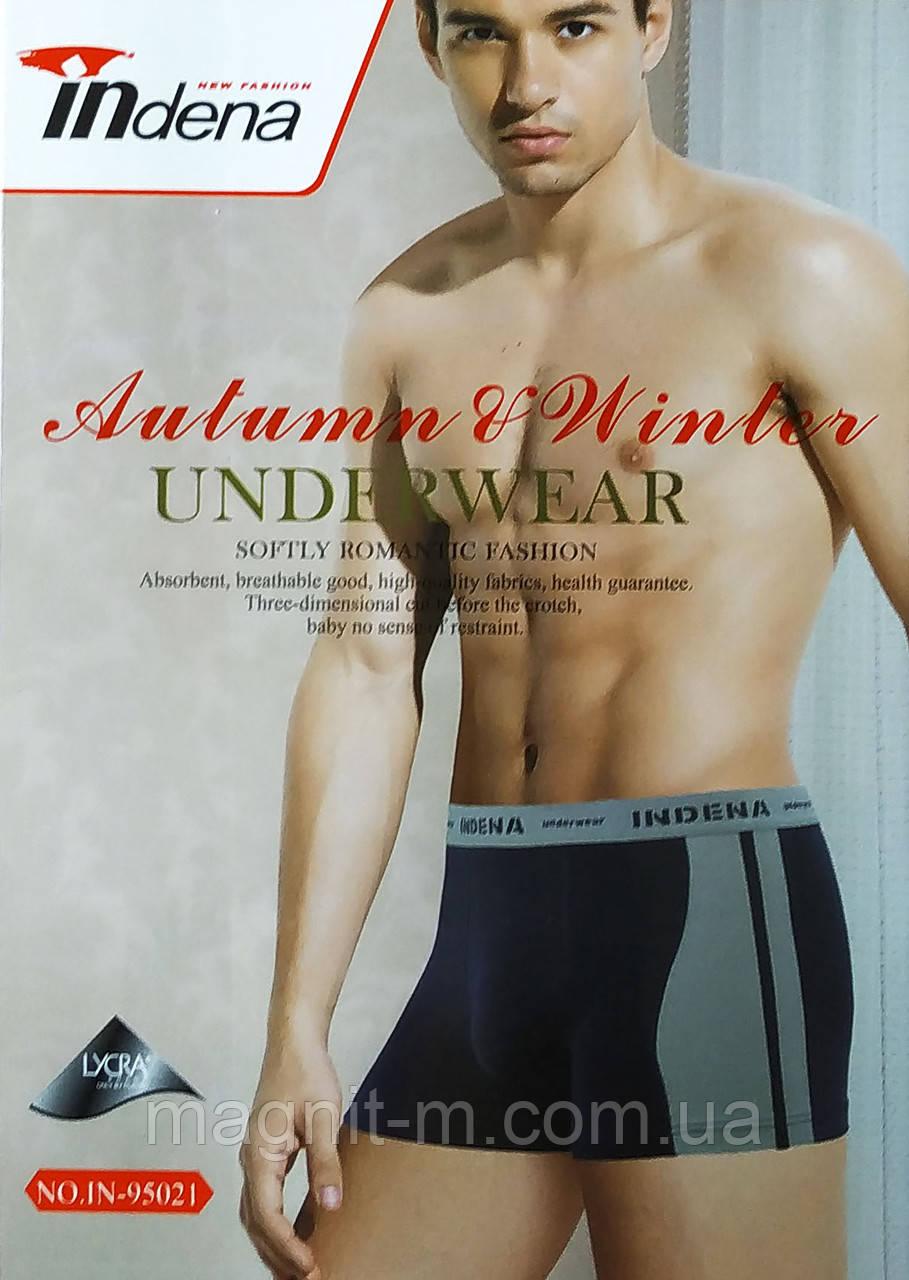 """Трусы мужские боксеры """"Indena"""". Хлопок. №95021."""